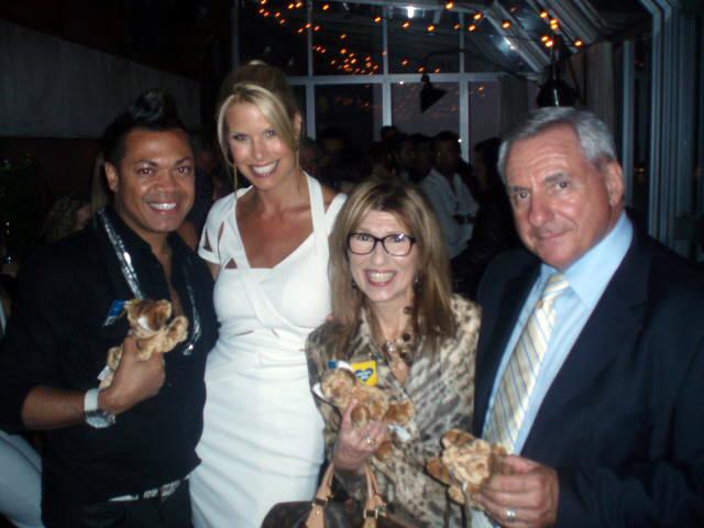 From left: Felix Mercado, Beth Ostrosky Stern, Patty Tobin, Dr. Mauro C. Romita