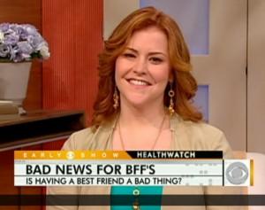 Dr. Jen Hartstein on CBS Early Show