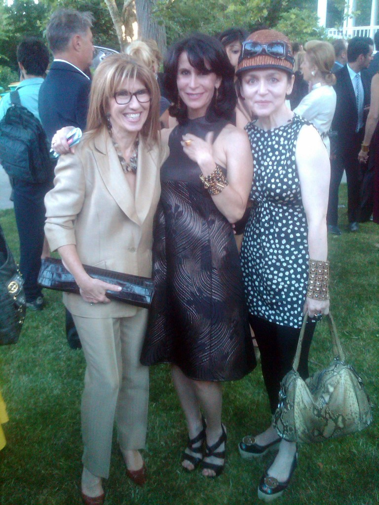 Patty Tobin and Katherine Oliver wearing Patty Tobin at Made in NY Awards