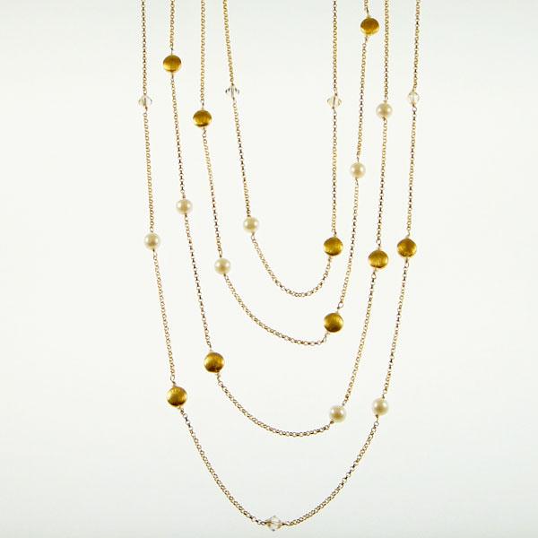 18k Vermeil Chains by Patty Tobin