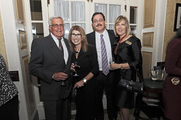 Patty Tobin with husband, Jim Lupo, and Vera and Jon Dordick