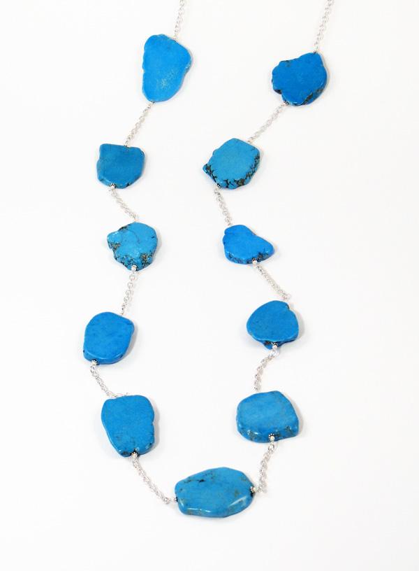 Turquoise shard by Patty Tobin