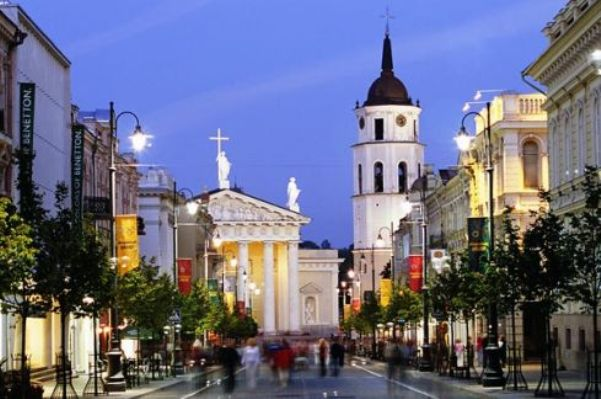 City of Vilnius, Lithuania