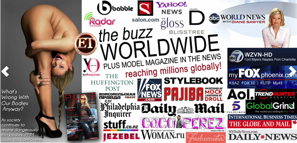 Plus Model Mag Worldwide Media Coverage