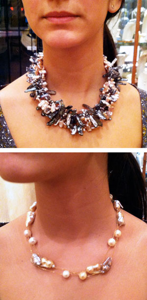 Made In America, Pearl Necklaces by Patty Tobin
