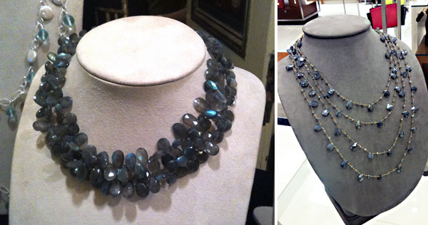 Labradorite necklaces by Patty Tobin