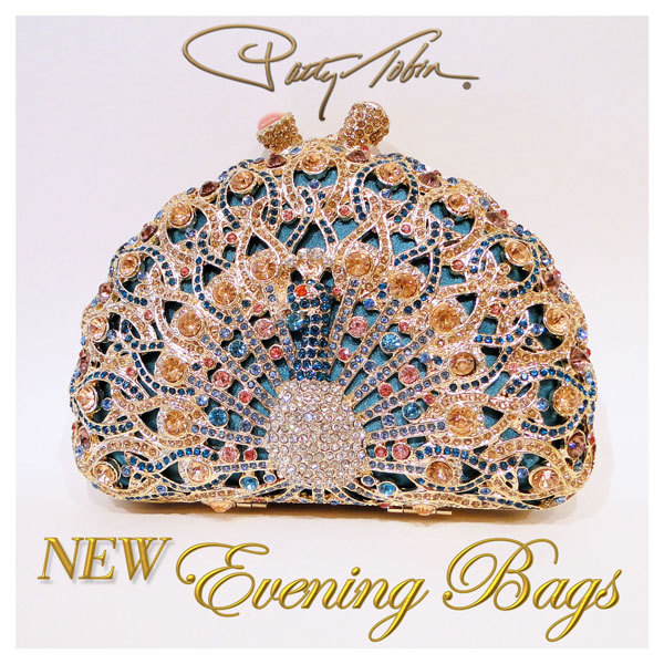 crystal evening bags at patty tobin