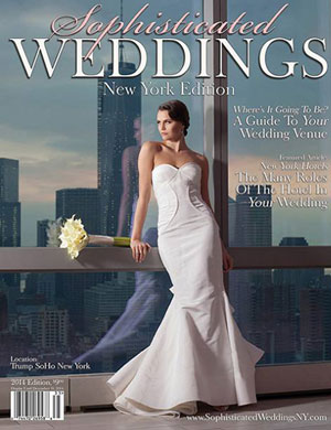 sophisticated weddings new york ed cover