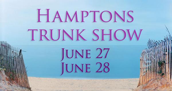 Patty Tobin Designer Trunk Show Hamptons