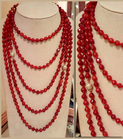 red valentine's day jewelry by patty tobin