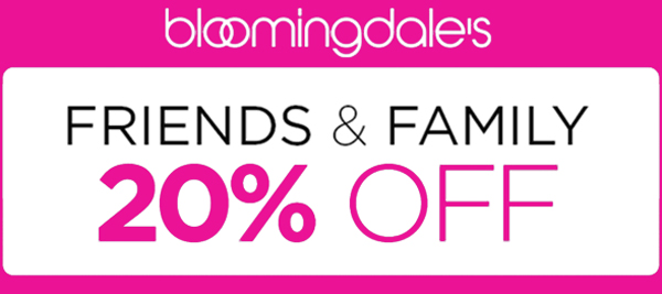 bloomingdales friends and family sale event 2015 patty tobin trunk show