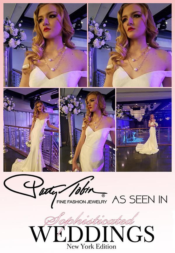 Patty Tobin Bridal Jewelry Sophisticated Weddings Magazine Photoshoot