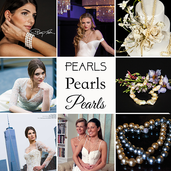 Patty Tobin Pearl Jewelry for Weddings