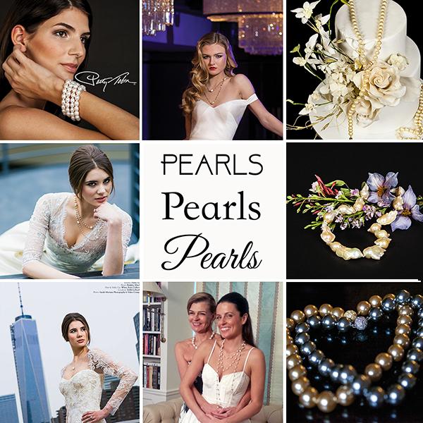 Patty Tobin Pearl Jewelry for Weddings