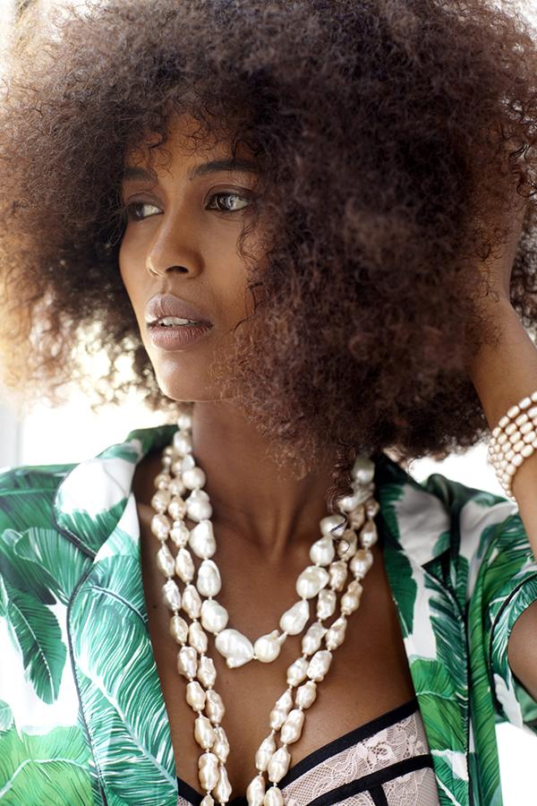 Patty Tobin, Pearls, Statement Jewelry, Fashion 2018