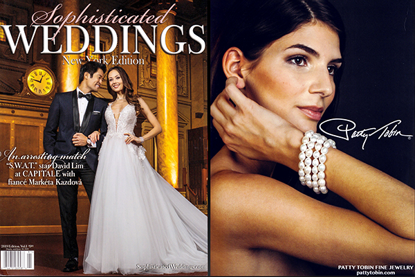 Patty Tobin in Sophisticated Weddings Magazine 2019