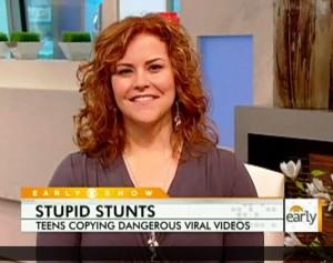 Dr. Jen Hartstein in Patty Tobin on CBS Early Show