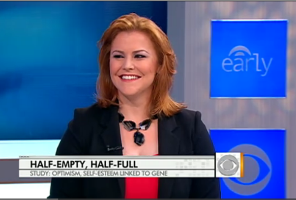 Dr. Jen Hartstein wearing Patty Tobin on CBS