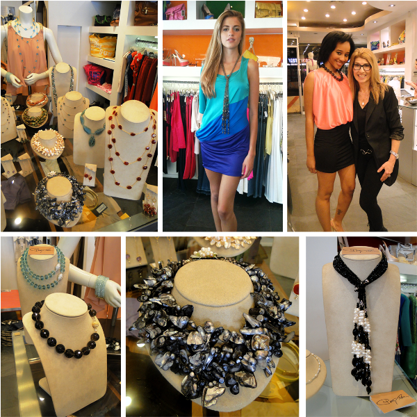 Patty Tobin trunk show at Item Boutique in NYC