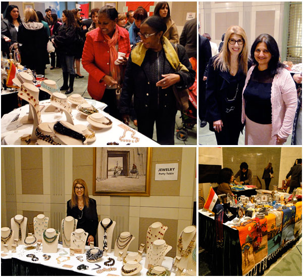 Patty Tobin jewelry at the united nations
