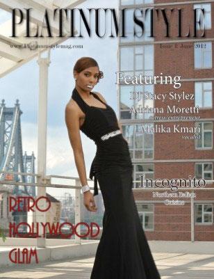 Platinum Style Magazine Cover
