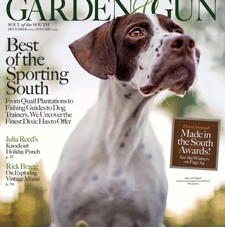 garden and gun magazine cover