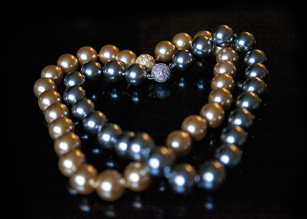Classic strands of pearls, but Patty Tobin Fine Fashion Jewelry.