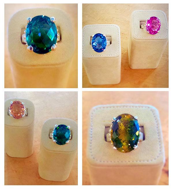 patty tobin jewelry cocktail rings circles albany, ny