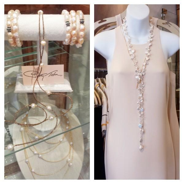 patty tobin pearl jewelry gemstone jewelry at circles in albany