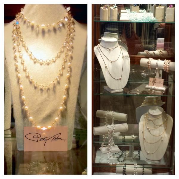 Patty Tobin jewelry at circles in albany