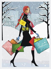 holiday shopper cartoon215