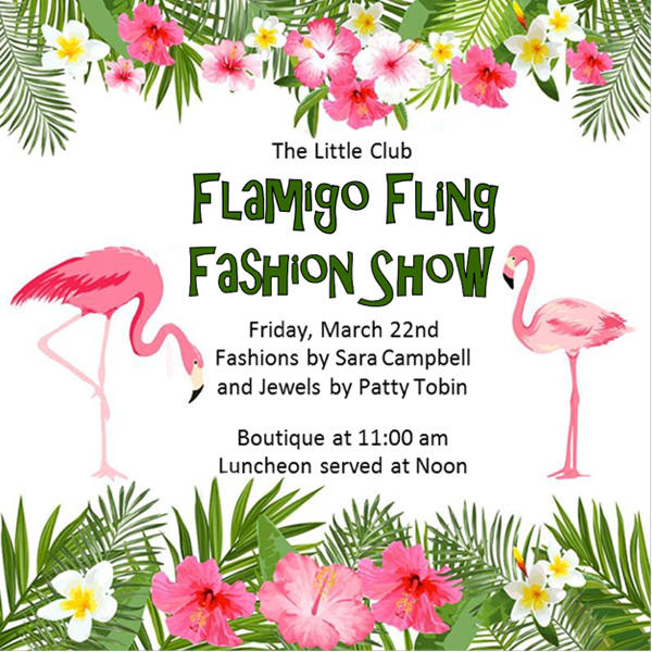 Patty Tobin Flamingo Fling Fashion Show March 22 2019